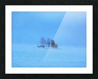 Frosty Morning on Georgian Bay Picture Frame print