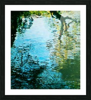 Nature reflections Picture Frame print