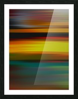 Abstract Landscape 6 Picture Frame print