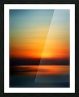 Abstract Landscape 9 Picture Frame print