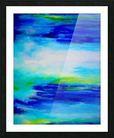 Abstract Landscape 11 Picture Frame print