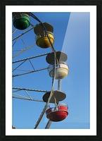 Ferris Wheel Picture Frame print