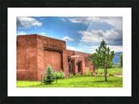 Seton Library Picture Frame print