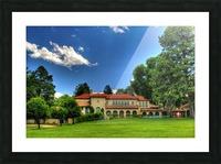 Villa Philmonte Picture Frame print