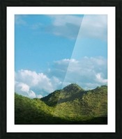 Rolling hills Picture Frame print