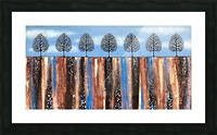 Trees Of Winter Picture Frame print