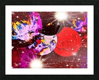The Imaginary Planets Series 5 Picture Frame print