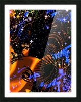 The Imaginary Planets Series 6 Picture Frame print