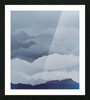 Beautiful Mountains Picture Frame print