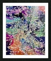 Abstract Composition 781 Picture Frame print