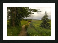Walking Home Picture Frame print