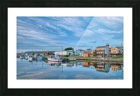 In The Harbour Picture Frame print