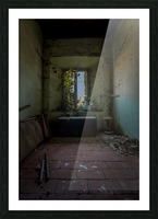 Abandoned Chest Picture Frame print