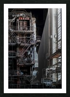 Abandoned Blade Runner Factory Picture Frame print