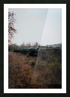 Abandoned Tank Graveyard Picture Frame print