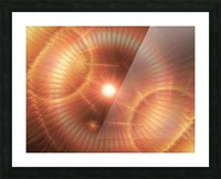 Sun Storm 1 Picture Frame print