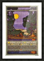 Moonlight Picture Frame print
