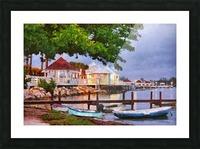 The Pier On Bridge Street Picture Frame print