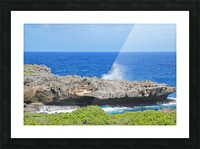 Rocky Ledge Picture Frame print