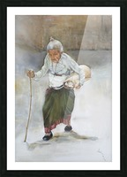 Old_Woman_High_Res Impression et Cadre photo