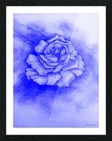 Celestial Rose Picture Frame print