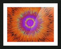 Abstract Sun 33 Picture Frame print