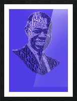 Louis Amstrong Picture Frame print