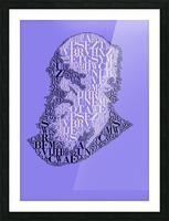 Charles Darwin Picture Frame print
