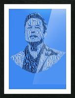 Elon Musk Picture Frame print