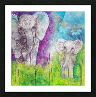 Josephine & Lily Picture Frame print