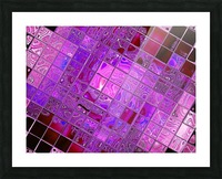 Glass Crystal 3 Picture Frame print