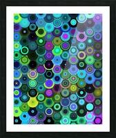 generated_Glitch43 Picture Frame print