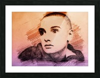 Sinéad OConnor Picture Frame print