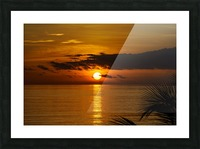 Sunrise at Cayman Kai Picture Frame print