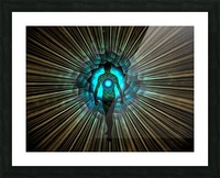 Aura or Soul Picture Frame print