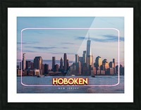 Hoboken   New Jersey Picture Frame print