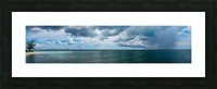 View of Georgetown  from Starfish Point in Grand Cayman Picture Frame print