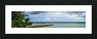View of Georgetown from Starfish Point in Grand Cayman 2 Picture Frame print