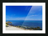 Caribbean Blues at Grand Cayman Picture Frame print