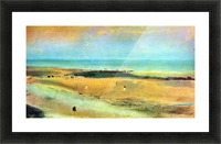 Beach at low tide 1 by Degas Picture Frame print