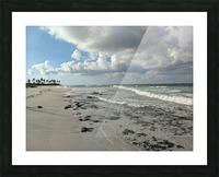 Eleuthera Deserted Beach Picture Frame print