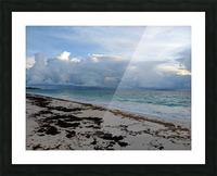 Eleuthera Stormy Horizon Picture Frame print