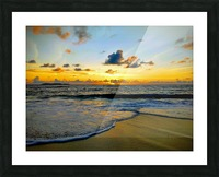 Eleuthera suds and sand Picture Frame print