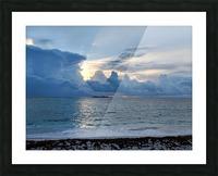 Eleuthera Sun Ray 2 Picture Frame print