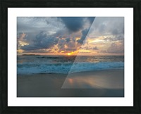 Eleuthera Morning on the beach Picture Frame print