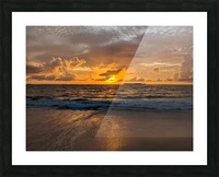 Eleuthera Golden Morning Picture Frame print