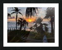 Eleuthera Sunrise on the Hammock Picture Frame print