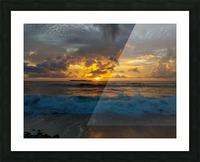 Eleuthera Sunrise splashdown Picture Frame print