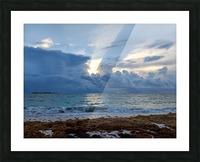 Eleuthera Sun ray Picture Frame print
