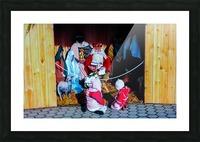 Hungarian Nativity Scene Picture Frame print